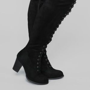 Jaye over the knee boots